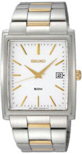 Seiko мужские Аналоговые кварцевые два тона из нержавеющей стали, часы SKK685P1
