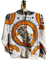 Star Wars BB8 boys Hoodie size small force  Skywalker hooded sweatshirt disney