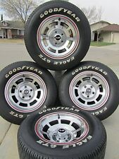 1978 CORVETTE PACE CAR WHEELS WITH GOODYEAR EAGLE GT II TIRES