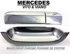 CROMADO CROMADAS MANETA PUERTA PECHO MALETERO MERCEDES W639 VITO & VIANO 2003-14