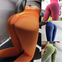 Women Yoga Pants High Waist Stretch Gym Trousers Jogging Fitness Leggings Sports