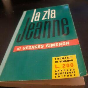 Georges Simenon - La zia Jeanne prima edizione 1957 A.Mondadori editore