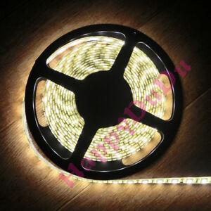 3.28ft~65.6ft Warm White 3000K LED 5050 Flexible Strips Light Lamp SMD 60leds/M