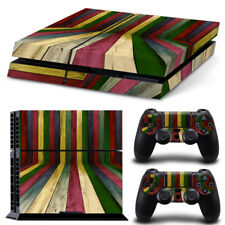 3D Colorful Sticker Decal Skin for SONY Playstation 4 PS4 Console& 2 Controllers