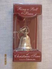 Ring a Bell for Peace at Christmas Time Ornament,2005,Roman Inc,Original Pkg