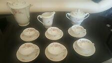 Ancienne service café porcelaine de Bavaria