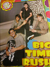 Big Time Rush, Demi Lovato, Double Four Page Foldout Poster
