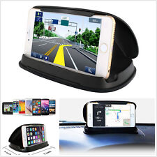 Car Dashboard GPS Navigation Cell Phone Mount Bracket Anti-Slip Silicone Holder