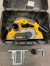 DEWALT D26500K 110V PLANER Excellent Condition & Comes With Case Fast Postage
