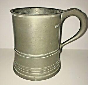 Pewter Tankard Mug Earl N. Levitt Clothier Williamsburg Gaskell & Chambers