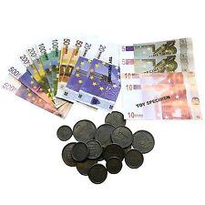 Set dinette Marchande Billet monnaie Euro pieces Jeu