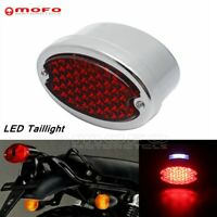 Motorcycle LED Brake Stop License Plate Light Taillight For Harley Softail FXSTC
