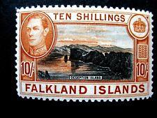 Falkland Islands. 1938/50. 10/-. SG 162. Lightly Mounted Mint .