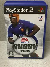 JEU PS2 RUGBY 2005 AVEC NOTICE PLAYSTATION