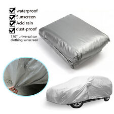 Universal Waterproof Wind Dust Resistant UV Outdoor Full  Car Cover Protector//
