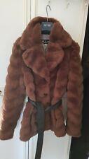 Women winter coats faux fur