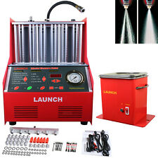LAUNCH CNC602A Gasoline Car Injector Ultrasonic Wave Cleaner Injection Tester