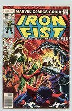 IRON FIST #15 ( 1977 ) VF+ ( JOHN BYRNE ART ) vs. THE NEW X-MEN ( FINAL ISSUE )