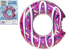"20"" Inflatable DONUT Childs Pool Float Swim Ring Swimming Lilo Fun Tube 50.8cm"