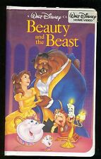 "Walt Disney's Beauty and The Beast ""Black Diamond Classic"" VHS St. Jude Charity"