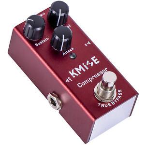 Guitar Effect Pedal Compressor Single Mini Phaser DC 9V for Electric Guitars