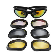 Polarized Goggles Storm UV400 Hunting Military Sunglasses with Case Glasses