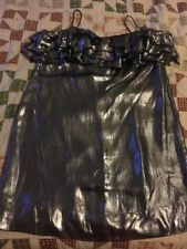 Women's French Connection Silver Dress, Size 16