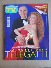 TV Sorrisi e Canzoni n°18 1997 Milly Carlucci Pippo Baudo Telegatti  [G583]