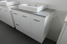 Amanda 1000mm LHS Drawer Wall Hung Bathroom Vanity Set @ Pacific Bathrooms