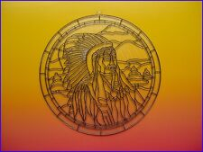 "Suncatcher / Plastic - 11"" Inch / Warrior / Design"