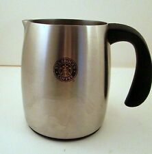 2006 Starbucks Coffee 16 oz. Stainless Steel Milk Frothing Pitcher With Handle