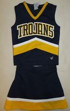 "Authentic 2 Piece Cheerleader Uniform ""Trojans"""