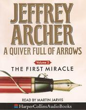 QUIVER FULL OF ARROWS: THE FIRST MIRACLE - Jeffrey Archer (Cassette Audio Book)