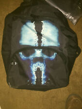 GHOST SKULL---NEW BACK PACK (ERIS LUNATIC)----NEW BLACK IN COLOR--VERY COOL