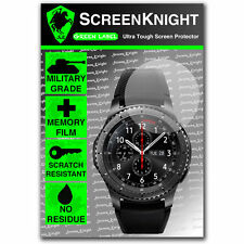 ScreenKnight Samsung Galaxy Gear S3 Frontier SCREEN PROTECTOR - Military Shield