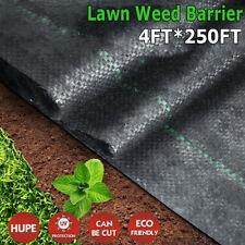 5oz Pro Garden Weed Barrier Landscape Fabric Heavy Duty Weed Block Mat 4x250ft