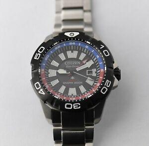 Citizen BJ7128-59E GMT - Eco Drive Watch - 45mm - MINT CONDITION