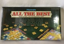 Playmate All The Best 2 games in 1 Word Power & Math-A-Matic Sealed