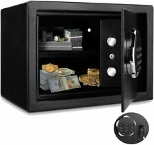 Digital Home Jewelry Cash Security Safe Box Electronic Steel 2 Types.