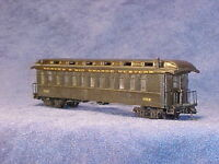 HOn3 D&RGW open platform PC#302(others) MRGS kit #3302NG, plastic w/resin roof.