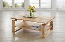 Couchtisch Tisch Alex buche Vollmassiv / Echtholz 110 X 70 Cm