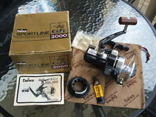 DAIWA GS-2000 SPORTLINE SPINNING FISHING REEL JAPAN NEW NOS SUPERB RARE