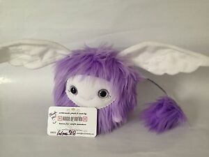 SDCC 2015 House Of Darkly Handmade Purple Ball Baby Wing Ear Toy Fur Plush NYCC