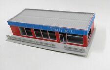 HO scale building Roadside Convenience Store OO gauge model train layout Q