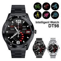 Bluetooth Smartwatch IP68 Sports Uhr Pulsuhr Blutdruck Fitness Tracker Armband