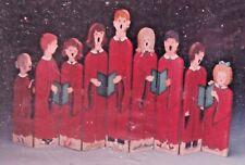 KATHY McPHERSON 1986 CHILDRENS CHRISTMAS CHOIR FIRE SCREEN PAINTING PATTERN