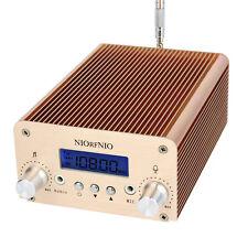 New 1W/6W FM Transmitter PLL Mini Radio Switchable Stereo+Antenna 100Khz+Track