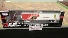 DCP #32213 HANNAFORD FOODS SUPERMARKETS SEMI CAB TRUCK & REEFER TRAILER 1:64/ FC