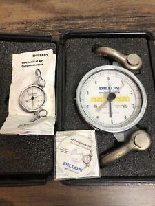 Dillon AP Dynamometer, 10,000lb range, 5in Dyna, case included