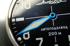 THE.BURAN.ONE - BLUE - VOSTOK MINUTE HAND WH.M-01-B